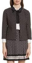 Kate Spade Diamond Jacquard Jacket