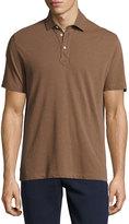 Brunello Cucinelli Short-Sleeve Pique Polo Shirt