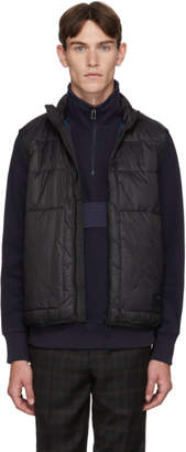 Paul Smith Black Insulated Quilted Vest