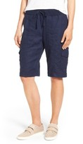 Eileen Fisher Women's Drawstring Waist Bermuda Cargo Shorts