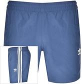 adidas 3 Stripes Swim Shorts Navy