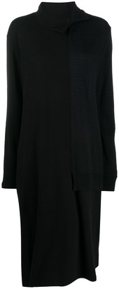 Y's Panelled Shift Jumper Dress