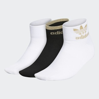adidas Trefoil Shine Low-Cut Socks 3 Pairs