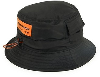 Heron Preston CTNBM Pocket Bucket Hat