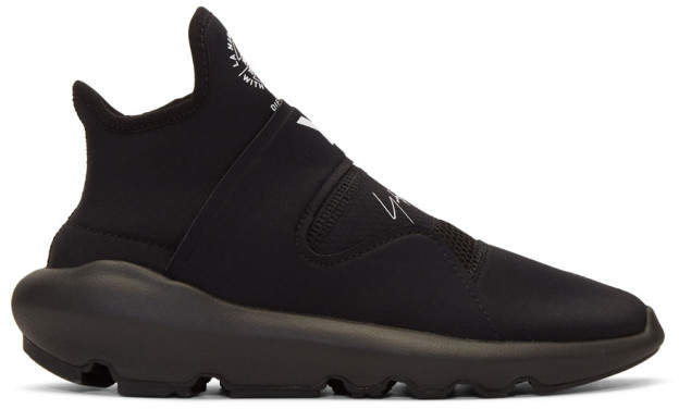 Y-3 Black Suberou Slip-On Sneakers