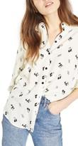 Topshop Petite Women's Panda Shirt