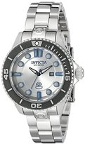 Invicta Women's 19813 Pro Diver Analog Display Swiss Quartz Silver Watch
