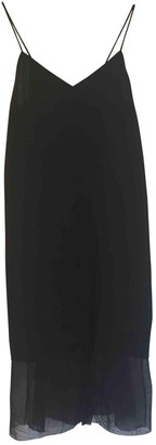 Pas De Calais Black Cotton Dress for Women