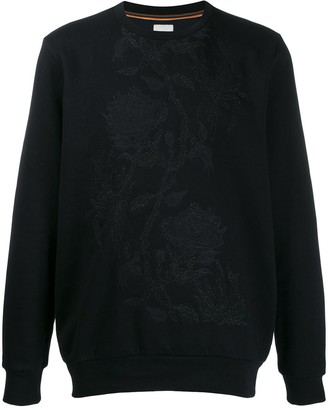 Paul Smith Floral Embroidered Sweater
