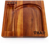 The Cellar Words Collection This N That Cheese Board