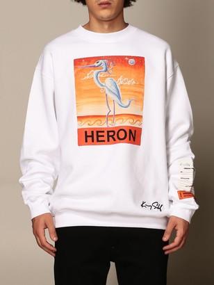 Heron Preston Crewneck Sweatshirt With Heron Print