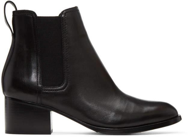 Rag & Bone Black Walker Boots