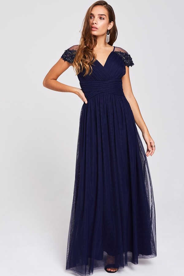 5b9cac62114 Little Mistress Embellished Dress - ShopStyle UK