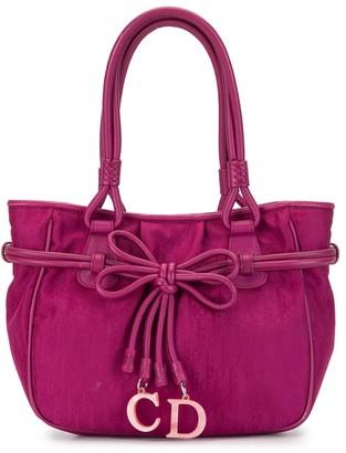 Christian Dior 2007 Pre-Owned Monogram Bow Charm Bag