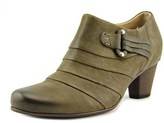 Gabor 15.282 Women Round Toe Leather Brown Heels.