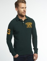 Superdry Super State Long Sleeve Polo Shirt
