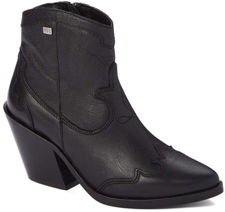 Musse & Cloud Women's Casual boots NBK - Black Brinda Leather Boot - Women