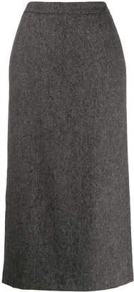Aspesi long pencil skirt