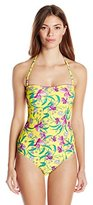 Jessica Simpson Women's Sweet Treat One-Piece Swimsuit