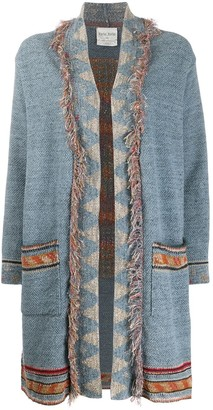 Forte Forte Geometric Knit Cardi-Coat