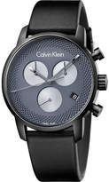 Calvin Klein K2G177C3 City black ion-plated stainless steel watch