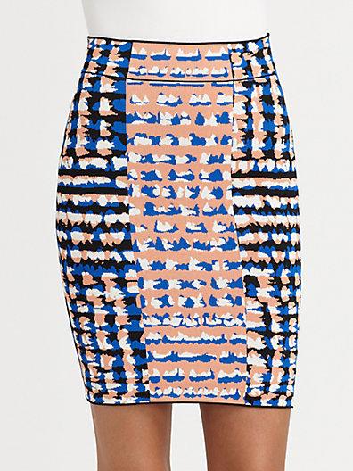 BCBGMAXAZRIA Emery Sweater Skirt