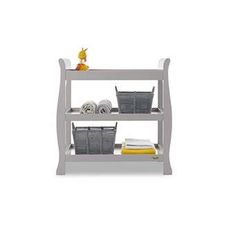 O Baby Obaby Stamford Sleigh Open Changing Unit - White