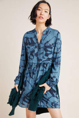 Cloth & Stone Tara Tie-Dyed Shirtdress