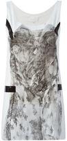 Maison Margiela floral lace print tank top