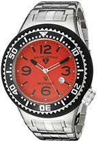 Swiss Legend Men's 21819P-55 Neptune Analog Display Swiss Quartz Silver Watch