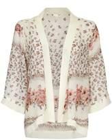 Yumi Floral Print Kimono