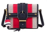 Tory Burch Canvas & Suede Cross-Body