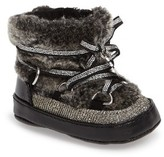 Stuart Weitzman Infant Girl's Faux Fur Snow Boot