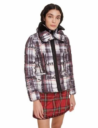 Desigual womens COAT SIGRUN Long Sleeve Coat White (White 1000) 14 (Manufacturer Size: 42)