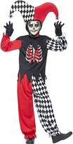 Very Halloween Boys Blood Curdling Jester - Child Fancy Dress Costume