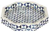 12x12 Octagon Multi Decorative Tray Breakfast Coffee Table Top Vintage Handmade Serving Tray from Handicrafts Home