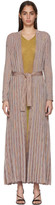 Missoni Multicolor Striped Lurex Dress