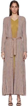Missoni Multicolor Striped Lurex Dress