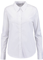 A.L.C. Meg Twist-Back Cotton-Blend Shirt