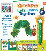 Editors of Publications International The World of Eric Carle: Let's Learn Together: Quiz It Pen Box Set