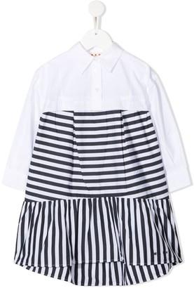 Marni Striped Shirt Dress