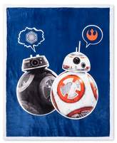 "Star Wars Blue Throw Blanket (46""x60"")"
