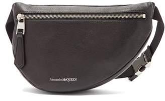 Alexander McQueen Belt Mini Leather Cross Body Bag - Mens - Black