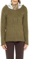 Max Studio Hand-Knitted Wool And Alpaca Cable Pullover