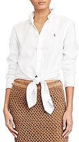 Polo Ralph Lauren Tie Front Oxford Shirt