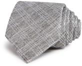John Varvatos Melange Broken Window Check Classic Tie