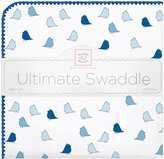 Swaddle Designs Little Chickies Ultimate Receiving Blanket - Pure Green