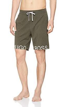 BOSS Men's Identity Shorts Pyjama Bottoms, (Bright Blue 438), Small