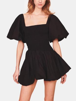 LoveShackFancy Asa Smocked Bubble Mini Dress