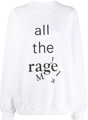 Maison Margiela All the Rage crewneck sweatshirt